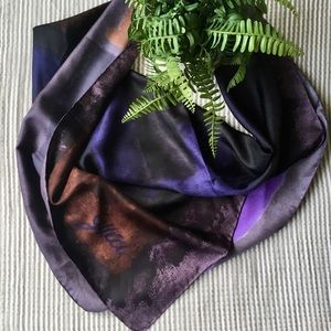 Gucci Silk Scarf Square Monogram G Abstract